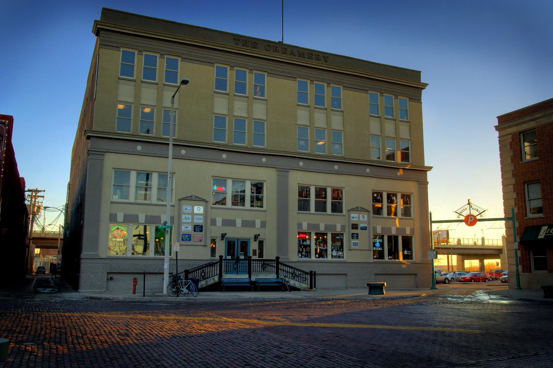 The Creamery Building Devon Wegner